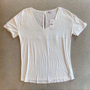 Splendid Soft and Sweet White Top Large